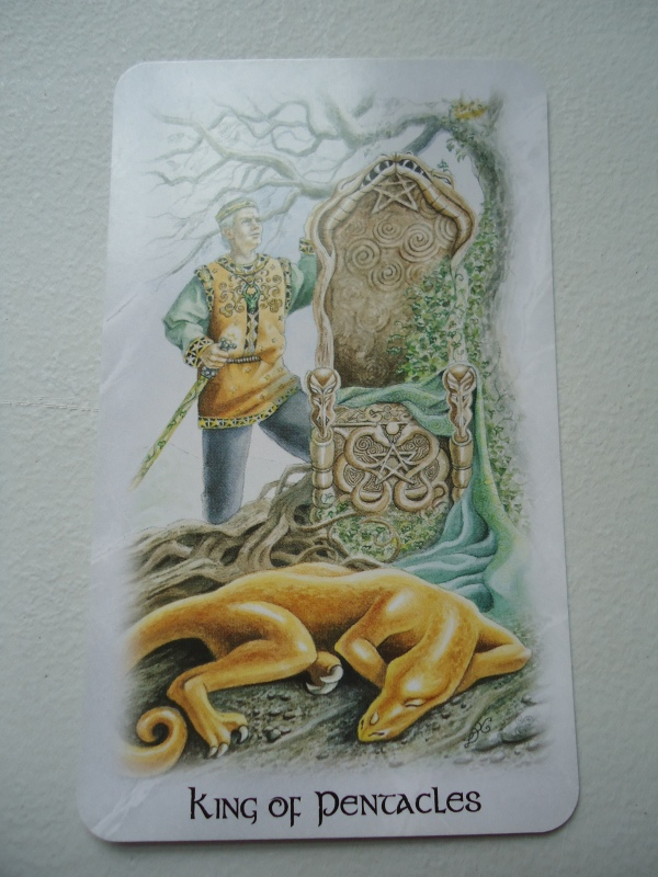 14 King of Pentacles