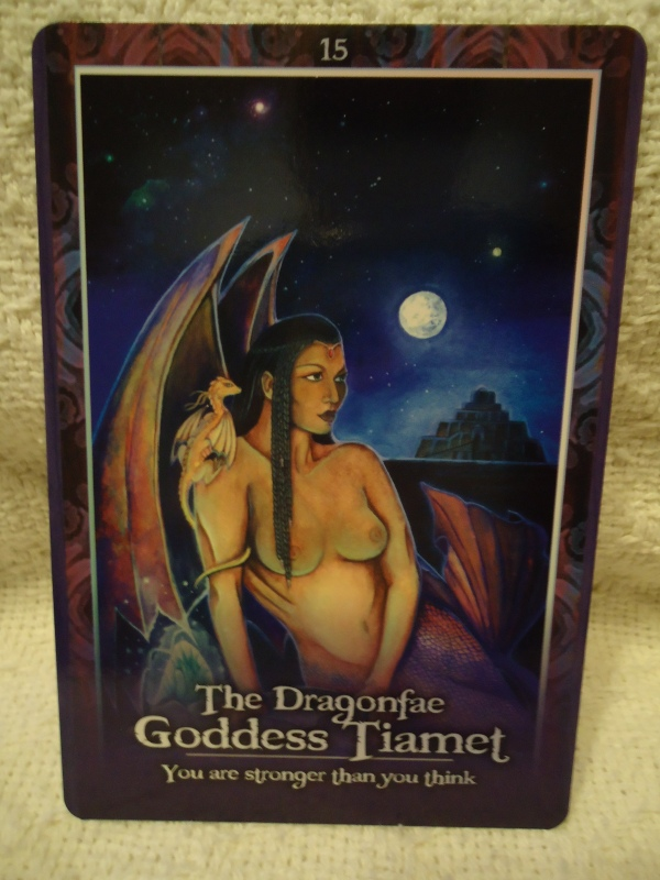 15 The Dragonfae Goddess Tiamet